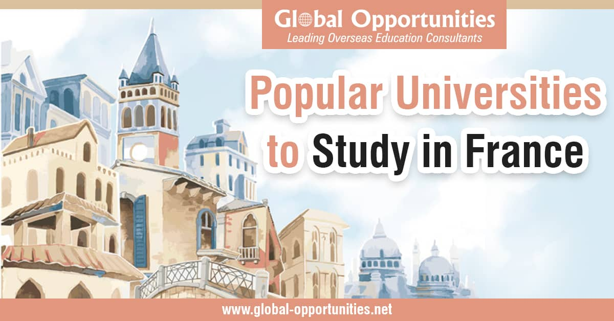Popular Universities to Study in France