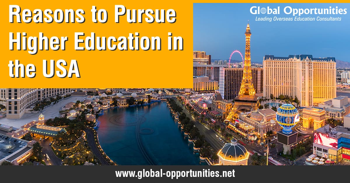 Reasons to Pursue Higher Education in the USA