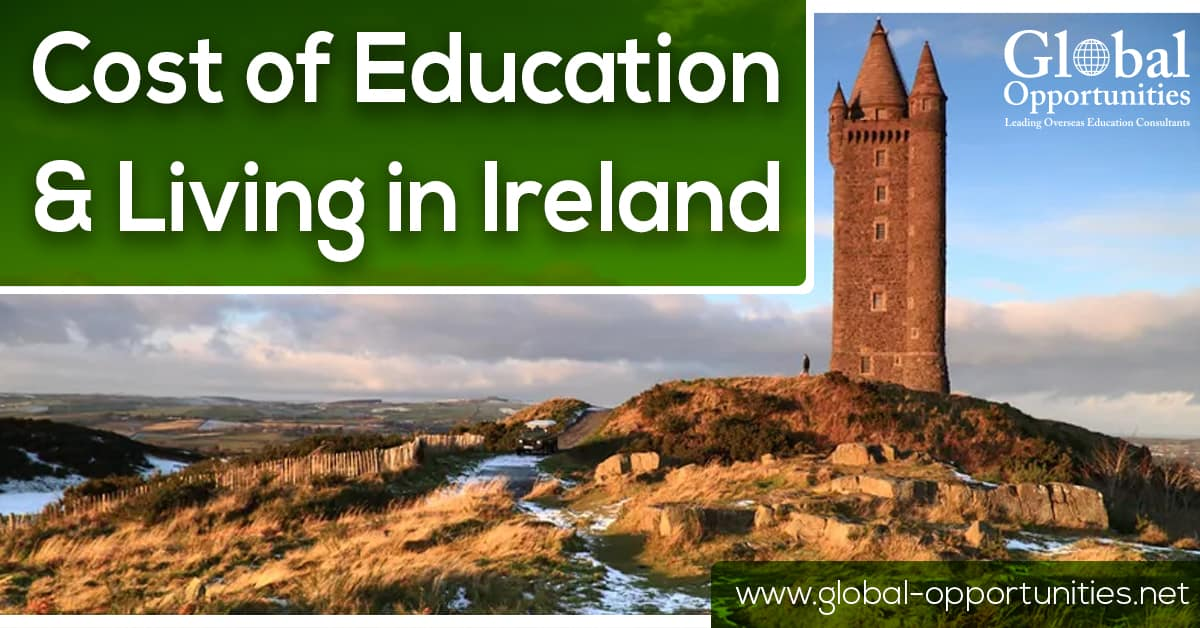 Cost of Education and Living in Ireland
