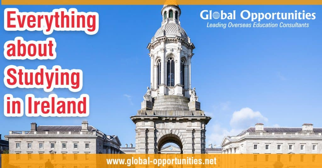 Everything about study in Ireland