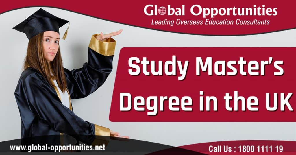 Study Master's Degree in the UK