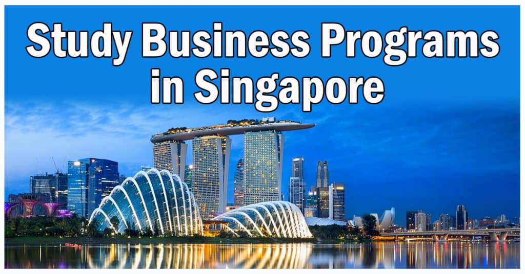 Study Business Programs in Singapore