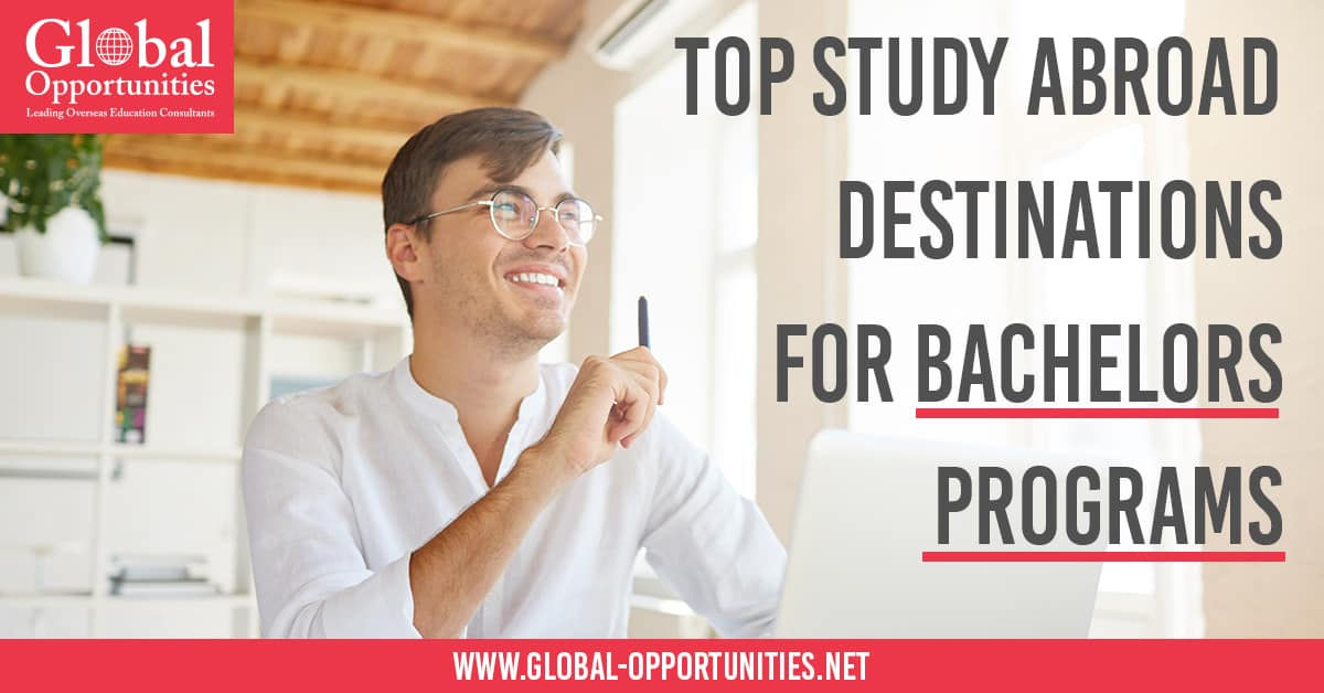 Top Study Abroad Destinations for Bachelors Programs