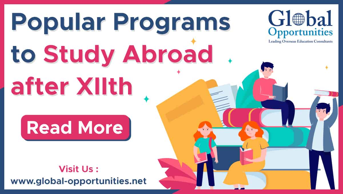 Popular Programs to Study abroad after X11th